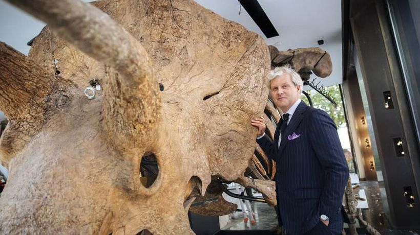 Big John, the biggest triceratops ever found, goes on display in Paris