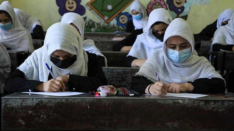 Afghan girls feel 'hopeless' about their education under Taliban rule