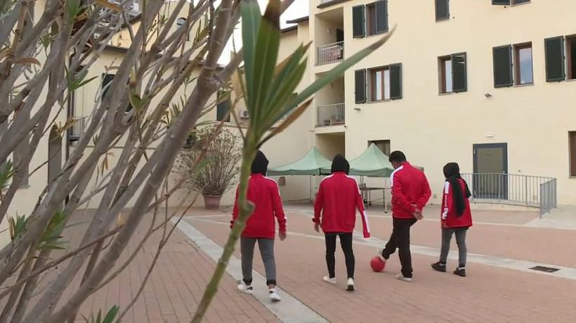 Afghan girls pursue football dream in Italy after fleeing Taliban