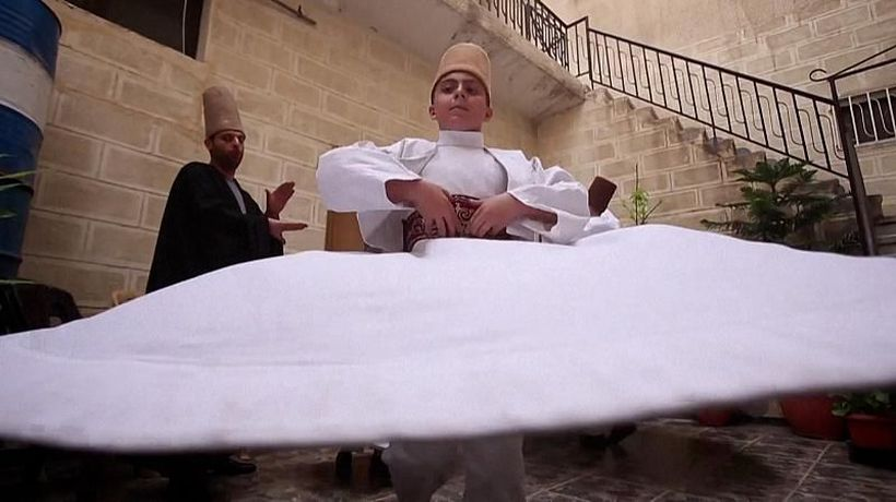 Sufi whirling: Meet the dancers who learn to spin before they can talk