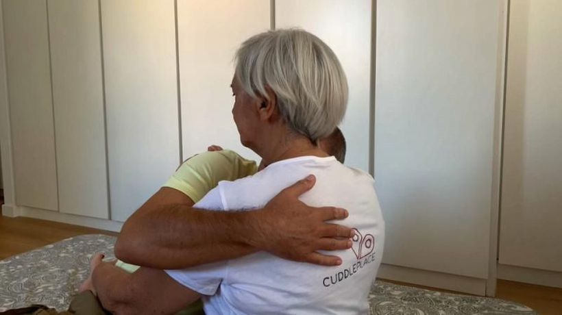 Rome embraces cuddle culture as pandemic sparks need for human touch