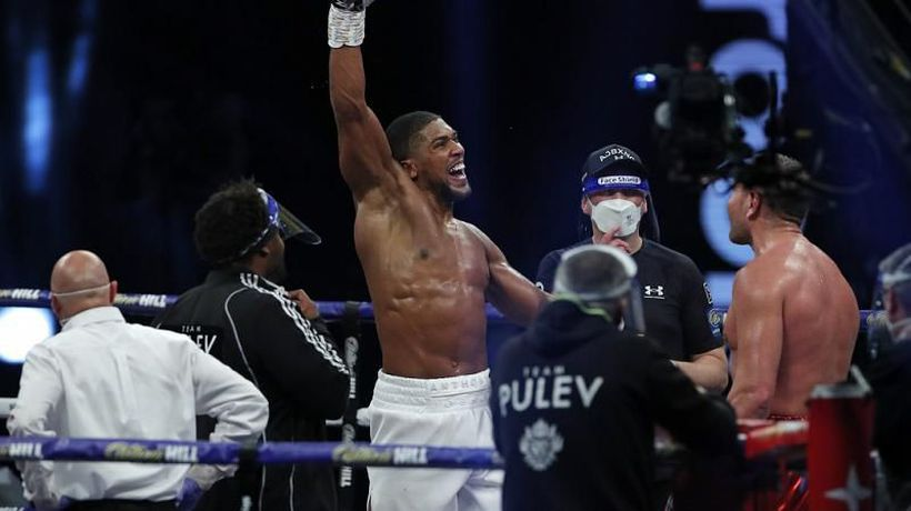 Anthony Joshua: I will knock out Usyk and I'd fight King Kong if I could