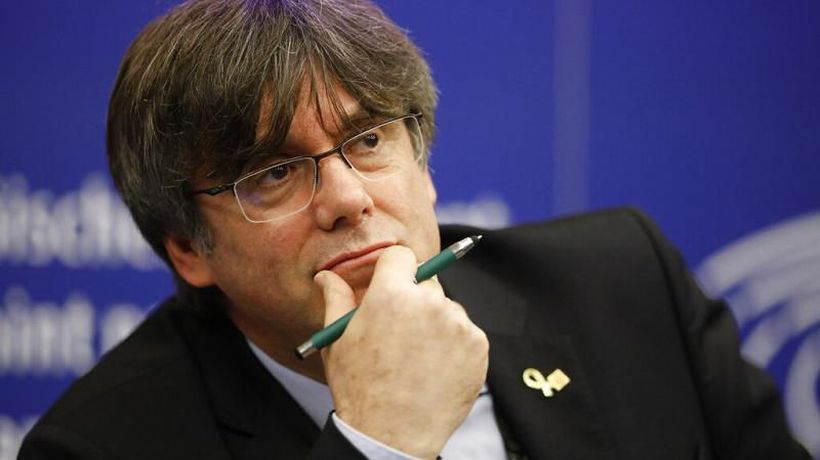 Carles Puigdemont must 'submit to Spanish justice', PM says, after MEP is arrested in Italy