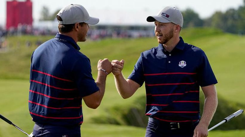 Ryder Cup 2021: United States take early lead over Europe at Whistling Straits