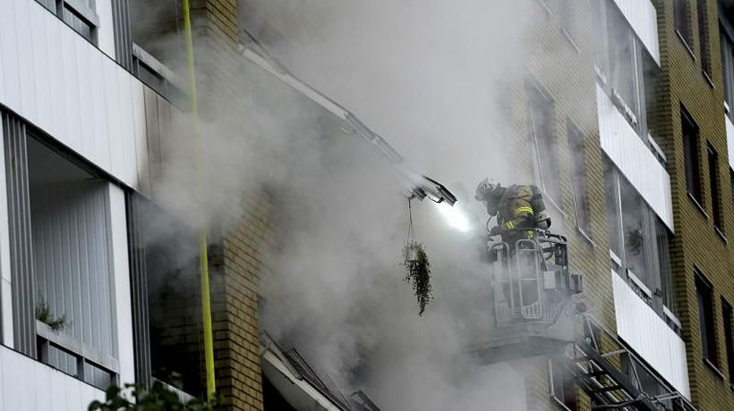 Police investigate explosion at Swedish apartment building that injured 16