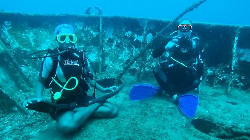 Underwater yoga: The new travel trend you've probably never heard of
