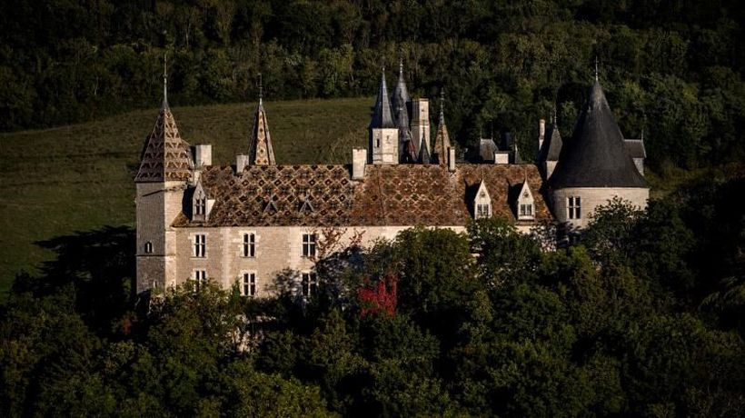 French villagers mobilise to save their castle from Ukrainian owner who 'pretends to be dead'