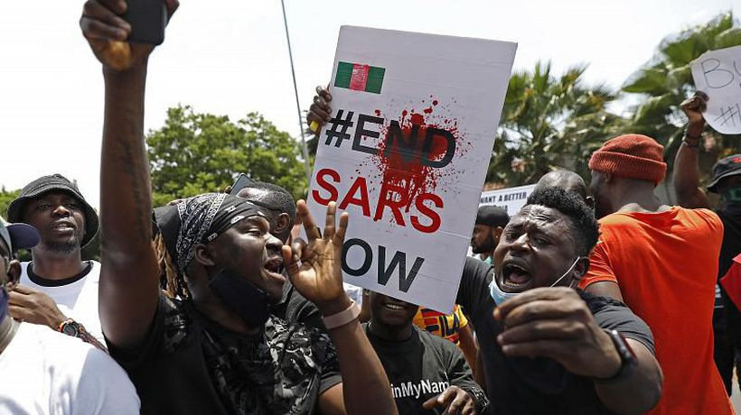 Nigeria: One year anniversary of #EndSARS protest movement