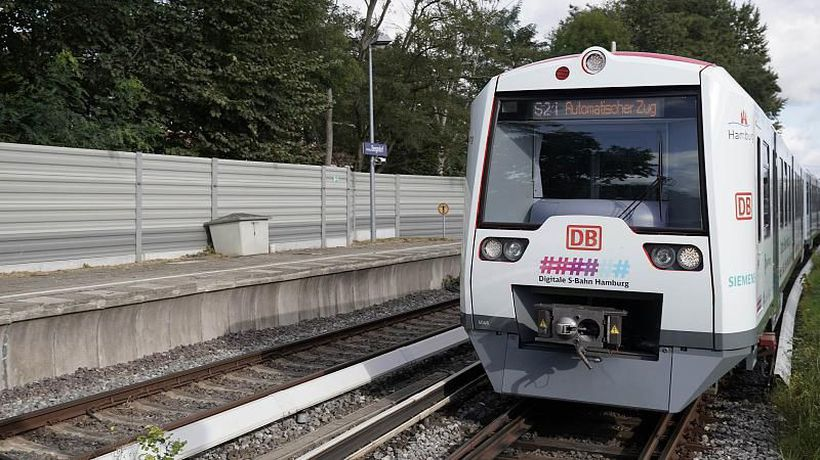 All aboard except the driver? A fully autonomous train takes to the tracks in Germany
