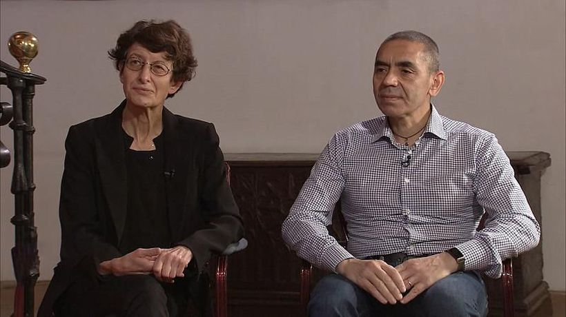 The couple behind BioNTech's COVID-19 vaccine win a Princess of Asturias Award