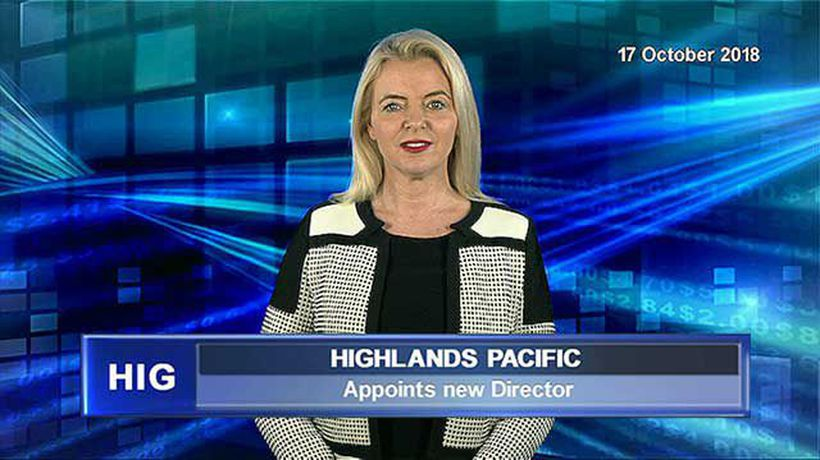Highlands Pacific appoints new director