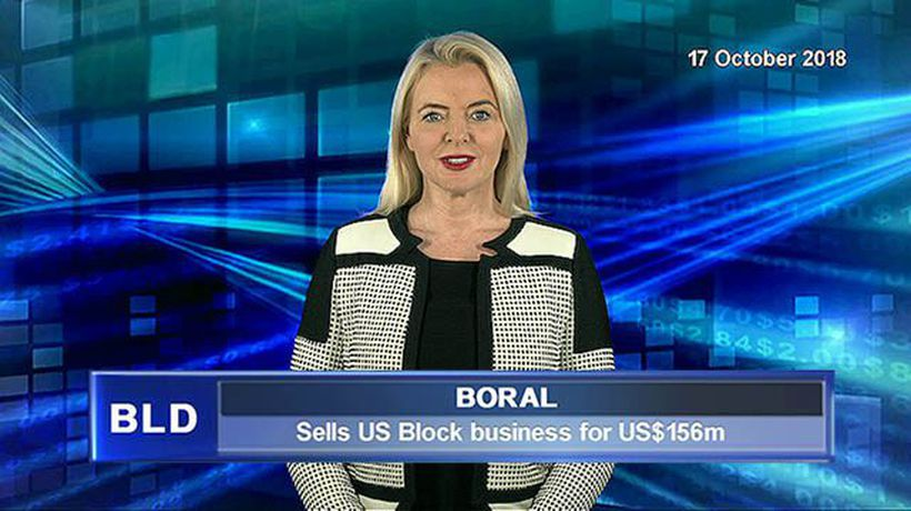 Boral sells US Block business for US$156 million