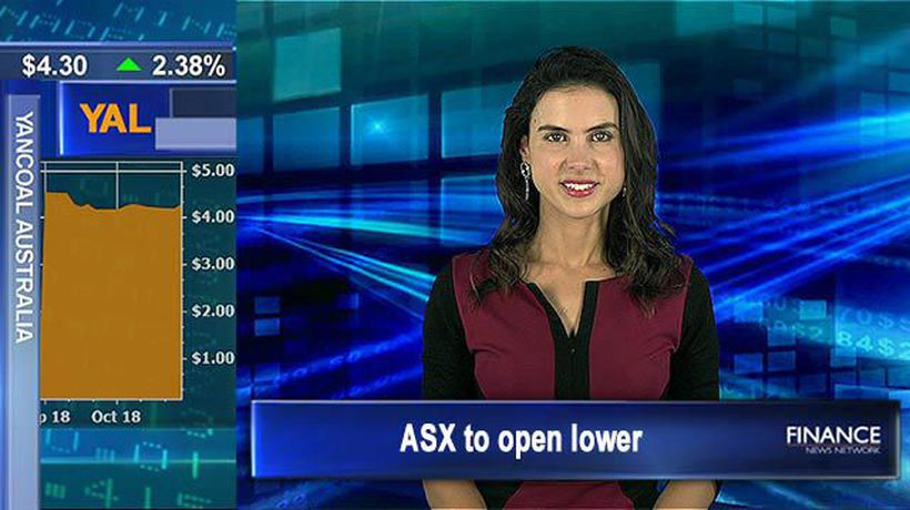 Wall Street ends in the red: Aus shares to open lower