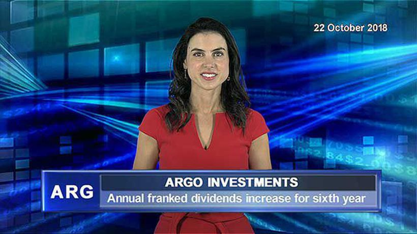 Argo Investments annual franked dividends increase for sixth consecutive year