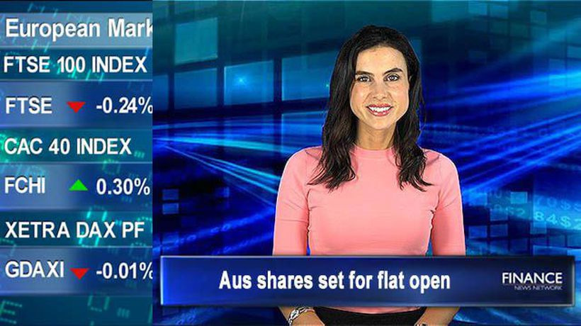 Wall Street closed: Aus shares set for flat open