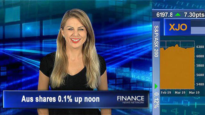 Choppy session, property prices fall more than expected: Aus shares 0.1% up at noon