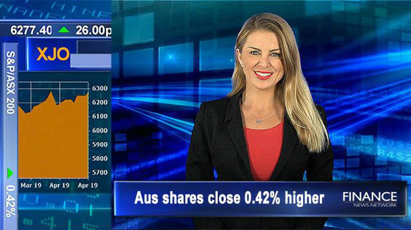 Healthcare injects life after Cochlear hits 3.5 wk high: Aus shares close 0.4% higher
