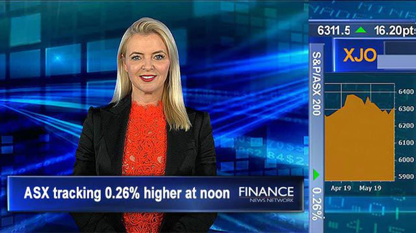 RBA Monetary Policy Statement downgrades forecasts: ASX 0.3% higher at noon
