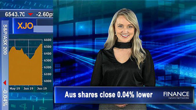 APRA to lift capital requirements for investor and interest only loans: Aus shares close 0.04% lower