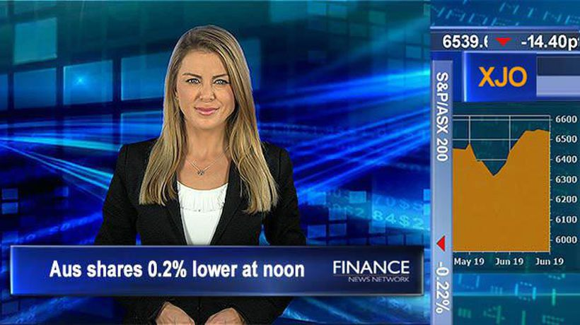 Vocus loses 2nd potential takeover, falls 30%: Aus shares 0.2% lower at noon