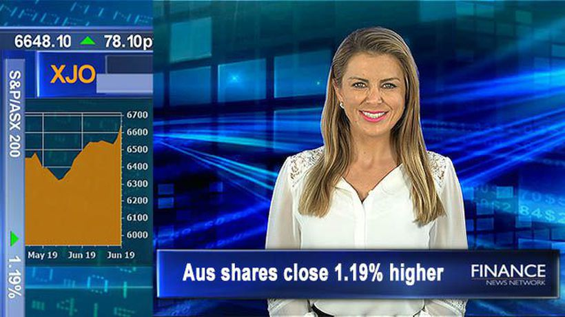 On the heels of a new all-time high: Aus shares close 1.2% higher