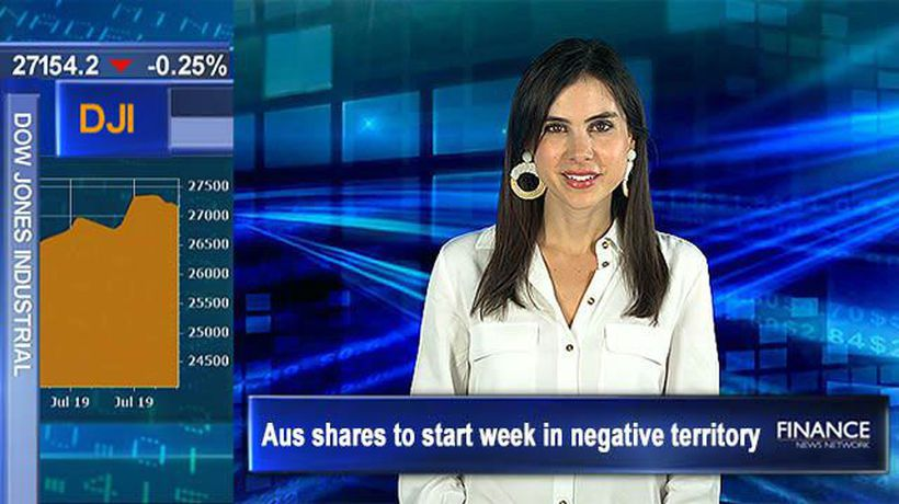 Wall St posts weekly losses: Aus shares to start week in negative territory