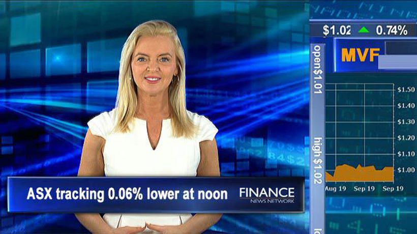 Bellamy's up over 50% after takeover bid: ASX tracking 0.2% lower at noon