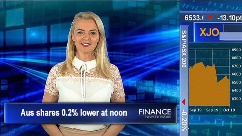 Orora shares soar on the back of sale: ASX tracking at 0.2% lower at noon