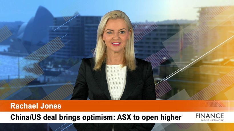 'Phase 1' deal between US and China brings optimism: ASX to open higher