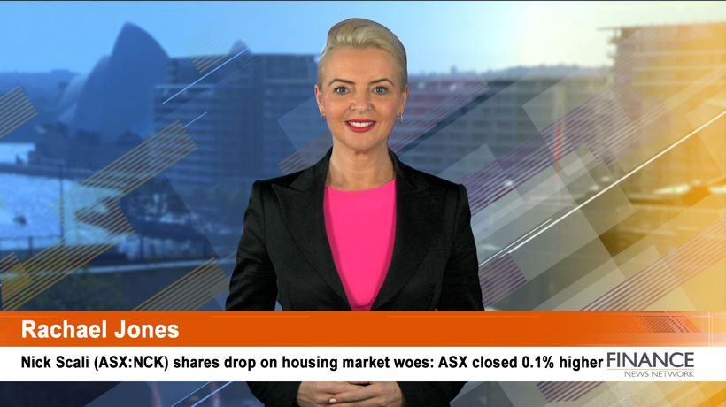 Nick Scali (ASX:NCK) shares drop on housing market woes: ASX closed 0.1% higher