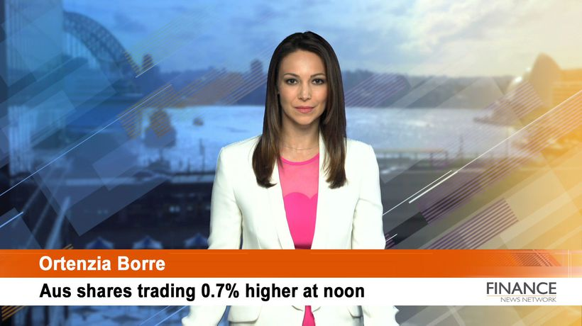 Costa Group (ASX:CGC) rises: Aus shares 0.7% higher at noon