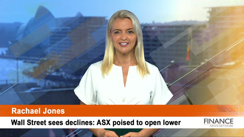 Wall Street sees declines: ASX poised to open lower