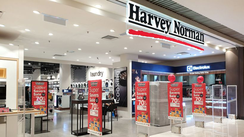Harvey Norman Holdings (ASX:HVN) profit impacted by bushfires and property prices