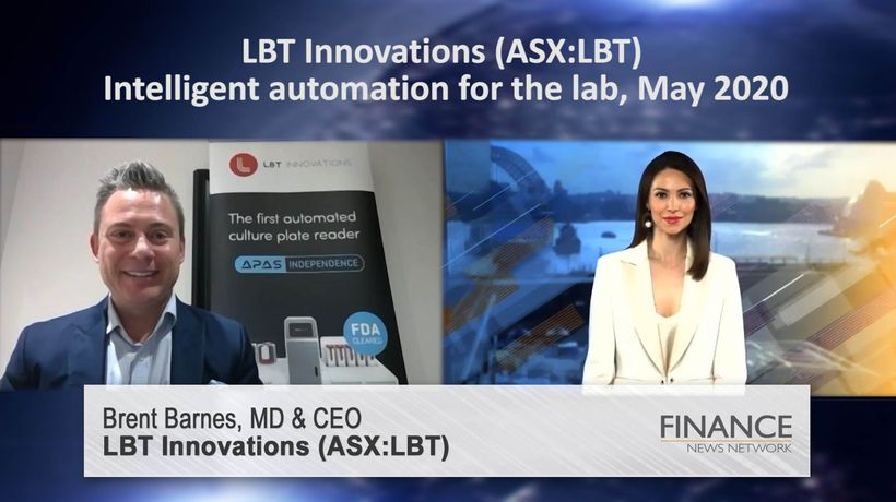 LBT Innovations (ASX:LBT) - intelligent automation for the lab