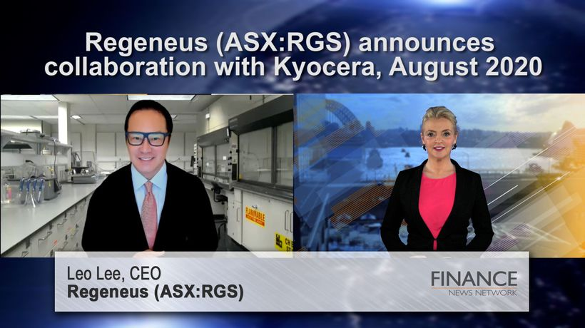 Regeneus (ASX:RGS) announces collaboration with Kyocera