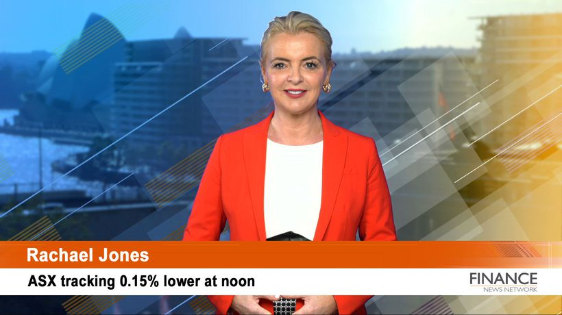 Market moves on new deals: ASX tracking 0.2% lower at noon