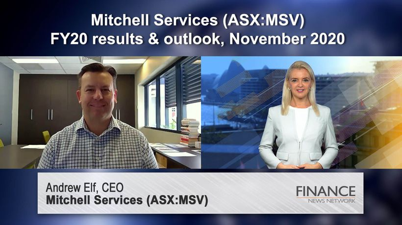 Mitchell Services (ASX:MSV) FY20 results & outlook