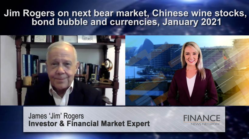 Jim Rogers predicts the next bear market will be the worst in over 70 years
