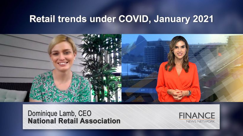 Retail trends under COVID, January 2021