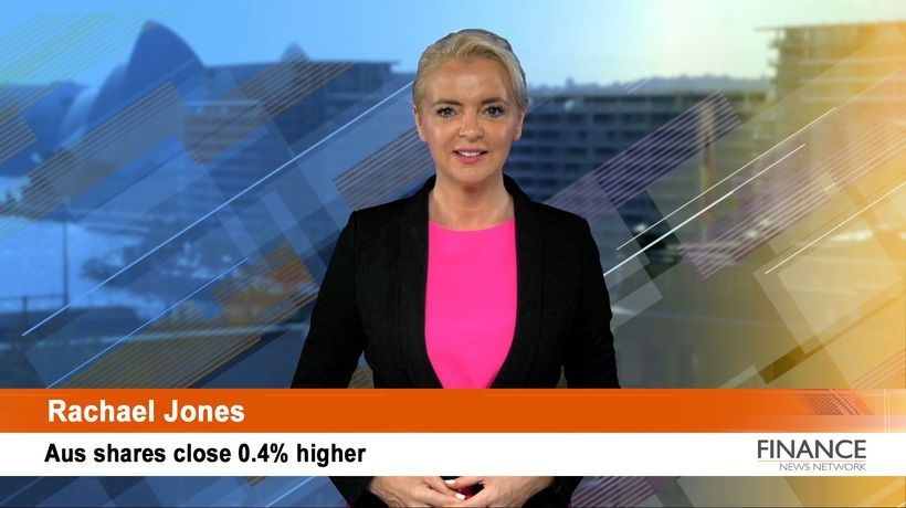 The sharemarket hits 6770.4 points: ASX closed 0.4% higher