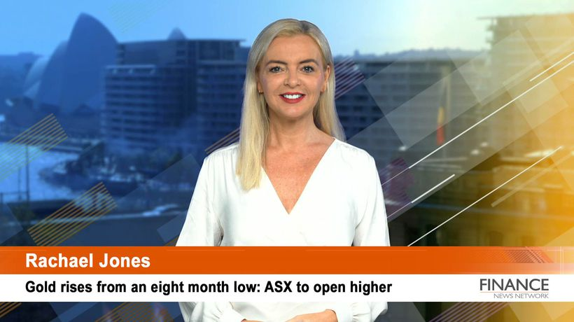 Gold rises from an eight month low: ASX to open higher