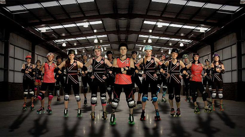 Roller Derby Till I Die - The Duchess of Crutches
