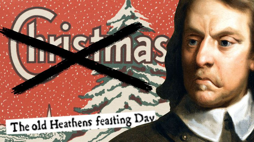 How Christmas was once made illegal
