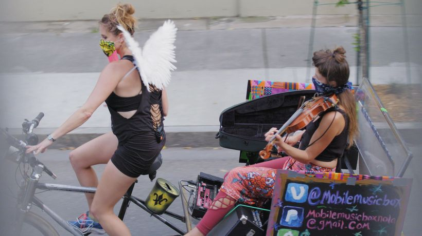 The 'Mobile Music Box' lifting spirits in New Orleans during coronavirus