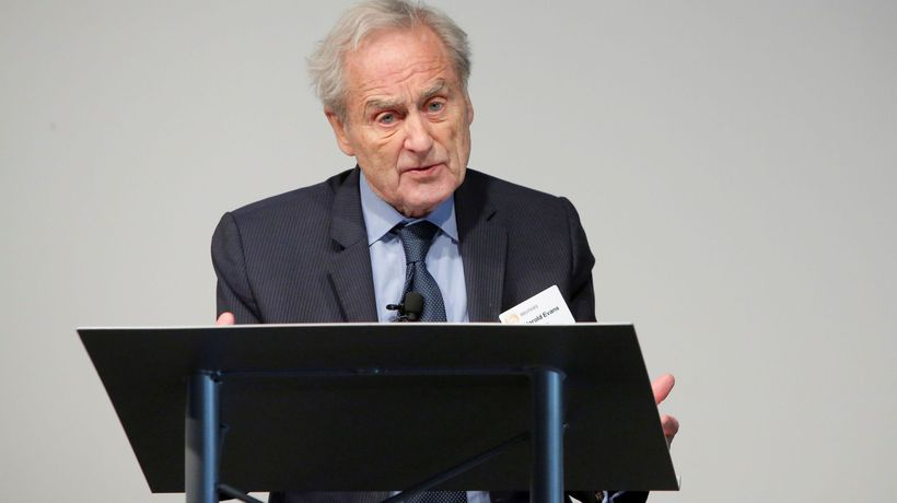 Sir Harold Evans talks about fallout from Leveson inquiry in 2012 interview