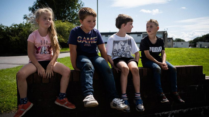 No ball games life and play through the eyes of children across the UK
