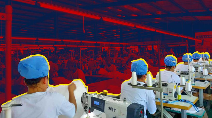 How Chinese PPE factories supplying the UK may be using North Korean slave labour