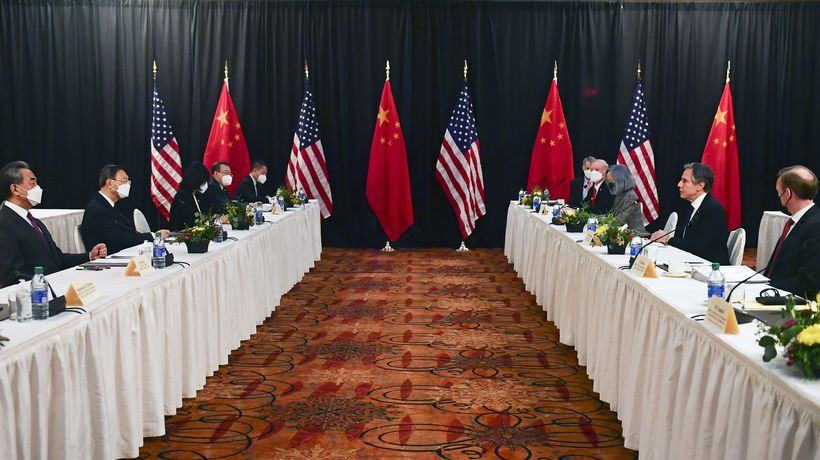 'Deep concerns': US and China trade criticisms at Alaska meeting