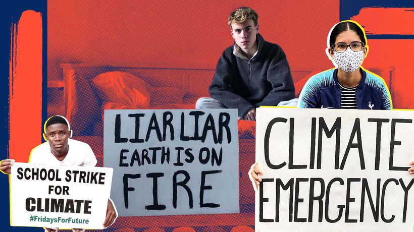 Protest in a pandemic: voices of young climate activists
