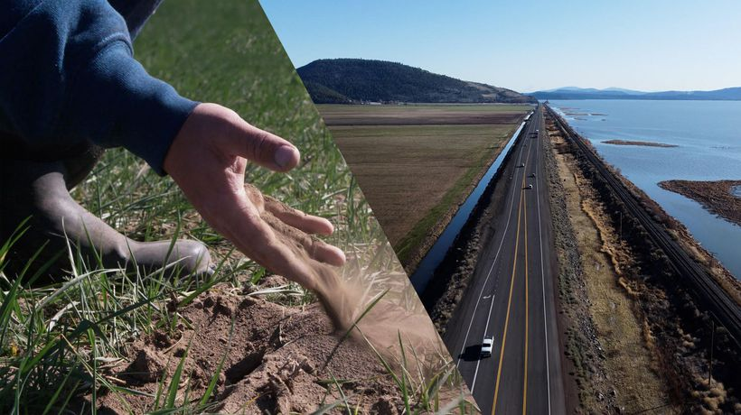 No water, no life: running out of water on the California-Oregon border